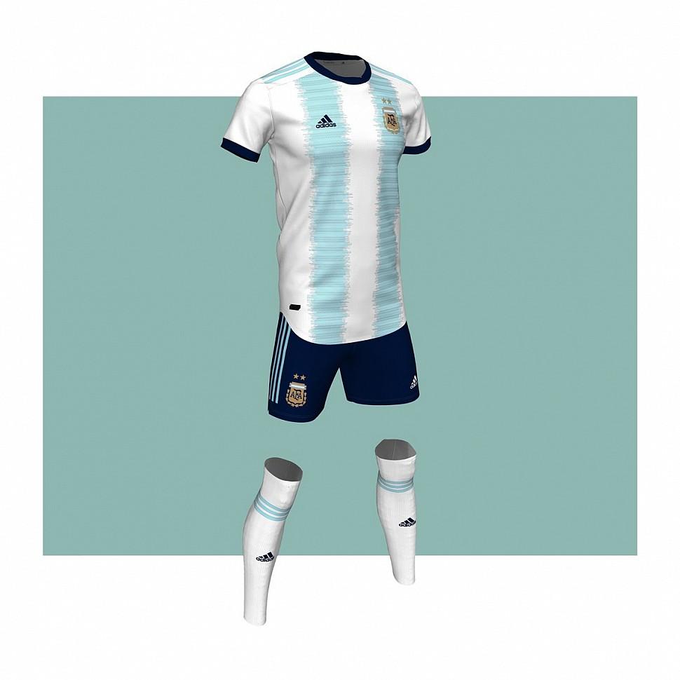 Форма сборной Аргентины 2019-2020