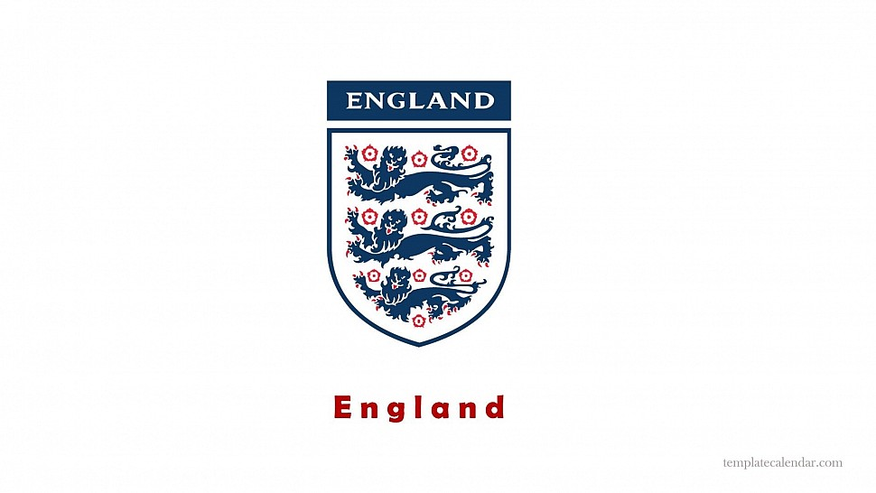 Логотип футбольной сборной Англии