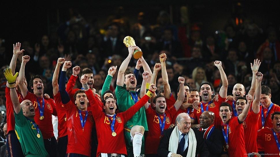 Сборная Испании - победители ЧМ 2010