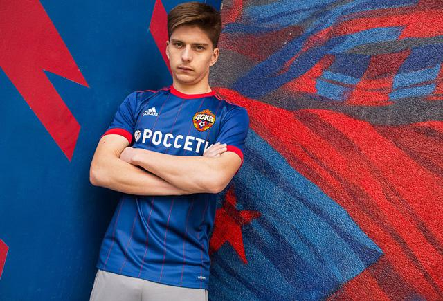 Домашняя форма ЦСКА 2017-2018